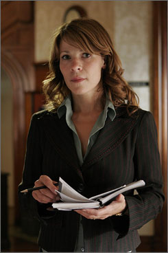 Unraveling: Therapist Ann Bellowes (Lili Taylor) finds out her husband is cheating on her.