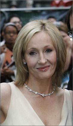 "After she finished Deathly Hallows, author J.K. Rowling says, ""I felt terrible for a week."""