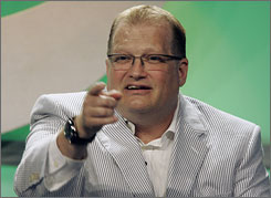 "Drew Carey: ""I would really love it,"" he told critics last week. He got it Monday."