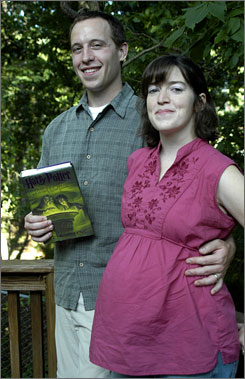 Jeff and Amy Chambless started reading the Harry Potter series on their honeymoon to Key West, Florida. They now look forward to the birth of their son so they can start reading the series to him.
