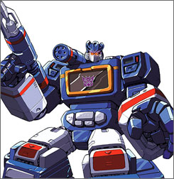 "Fans want to see Soundwave  in the next Transformers flick, but comics writer Bob Budiansky suggests he get with the times: ""Nowadays he would turn into something like an MP3 player. Imagine, an evil iPod!"""