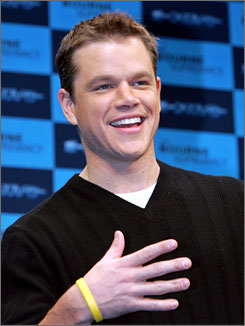 Matt Damon is just one of several Hollywood big names to participate in the Clean My Ride campaign, pressuring lawmakers and oil companies to provide corn-based ethanol for flexible-fuel cars.