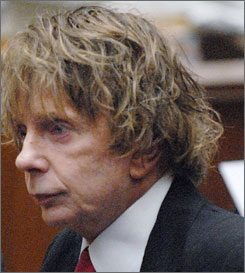 Attorneys for music producer Phil Spector are trying to convince the jury that Lana Clarkson shot herself over the state of her life and career.