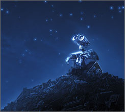 Disney-Pixar will use Comic-Con as an opportunity to preview its new animated comedy WALL-E.