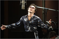 The singer: Marc Anthony is a commanding voice and presence  when J. Lo isn't chewing the scenery. 