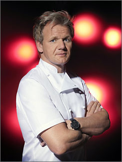 If you can't stand the heat ... Gordon Ramsay puts a big pinch of pressure into the mix of his reality show Hell's Kitchen.