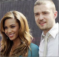 Beyonc and Justin Timberlake each head into the Sept. 9 Las Vegas-based VMAs with seven shots at a moon man trophy.