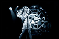 Beyonce is the new face of the Emporio Armani Diamonds fragrance ad campaign.