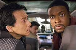 Cops vs. crime: Jackie Chan and Chris Tucker are back as buddies.
