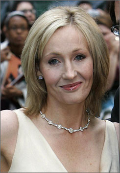 J.K. Rowling is reportedly giving crime fiction a try. According to The Sunday Times, she has been spotted at Scottish cafes working on a new novel.