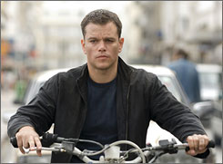 Blu-ray enthusiasts won't be able to watch Matt Damon in The Bourne Ultimatum when it's released for home viewing  it will only be available in HD DVD.