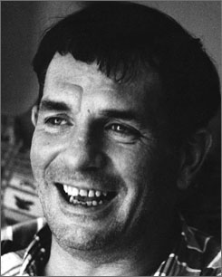 Rambling man: Jack Kerouac's On the Road was released 50 years ago. The author died in 1969.