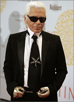 Karl Lagerfeld: Heir to Coco Chanel's legacy.