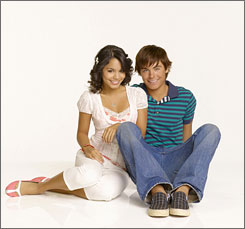 Head of the class: Vanessa Hudgens and Zac Efron's duet is the No. 9 digital song.