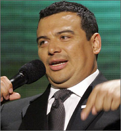 Carlos Mencia stars in his own Comedy Central show, Mind of Mencia.