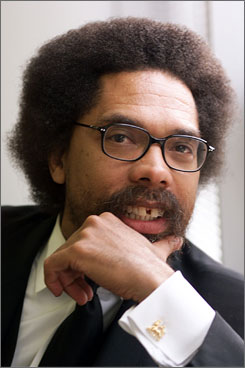 Politics and prose with a beat: Princeton professor Cornel West, best known for his books on race and culture, recruited an all-star lineup for his hip-hop album Never Forget: A Journey of Revelations.