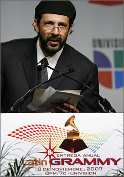 Singer/songwriter Juan Luis Guerra has five shots at a Latin Grammy come Nov. 8.