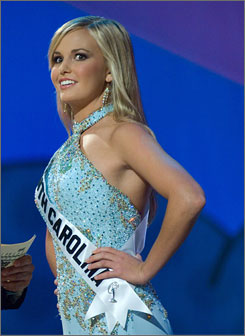 "Upton: She was ""in shock"" during Miss Teen USA Pageant interview."