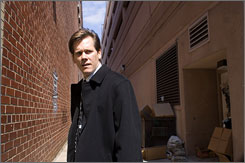 This is war: Kevin Bacon is a businessman out to avenge the murder of his son, but then the gang takes aim on his whole family