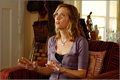 She's mousy, she's bitter: Kristen Wiig in The Brothers Solomon.