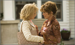 Georgia Rule: Felicity Huffman, left, and Jane Fonda.