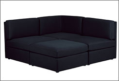 This is the Blackjack sectional collection at CB2. $299  $1696