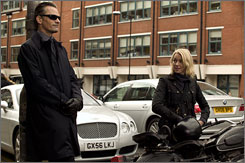 Eastern Promises: Viggo Mortensen plays a Russian gangster, and Naomi Watts plays a midwife.