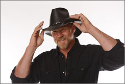 Adkins: Country star is finishing album Game On. Free-Thinking Roughneck arrives in bookstores Nov. 13.
