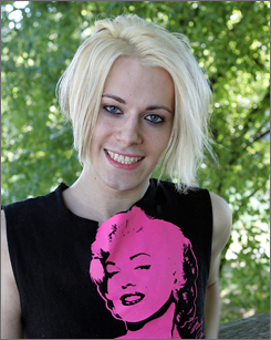 Internet celebrity Chris Crocker has captured millions of viewers on MySpace and YouTube with his passionate, campy and sometimes furious monologues about life.