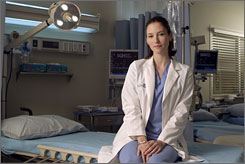  Another shade of Grey: Chyler Leigh, 25, joins the cast of Grey's Anatomy this season as Meredith's (Ellen Pompeo) half-sister, Dr. Lexie Grey. 