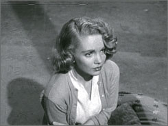 The rumble: June Kenney's Barbara is capable of violence in Teenage Doll.