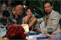 A wealth of conflict: Jimmy Smits, right, Paola Turbay, Hector Elizondo and Rita Moreno star in a Dallas-like drama about the rivalries and power struggles of a Cuban-American dynasty in South Florida.
