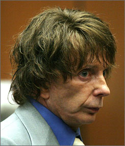Phil Spector was on trial for the February 2003 death of actress Lana Clarkson. The judge declared a mistrial Wednesday because of a hung jury.