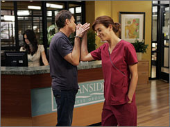 Wellness center of attention: Tim Daly and Kate Walsh star in ABC's Private Practice.