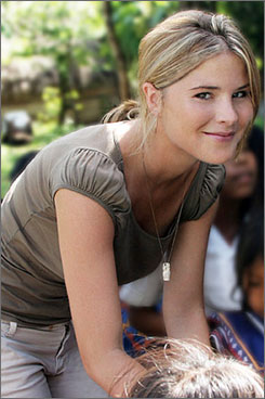Jenna Bush: President's daughter, author of Ana's Story.