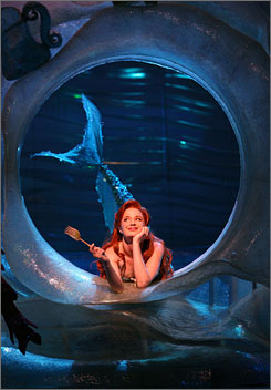 The Little Mermaid: Sierra Boggess stars as Ariel in the adaptation of the Disney animated film.