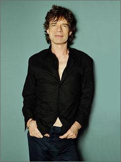 """A little bit of everything: For this CD, Mick Jagger says he """"picked things I felt held up over the years."""""""