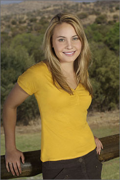 She's game: Leah Pipes is Katie in family drama.