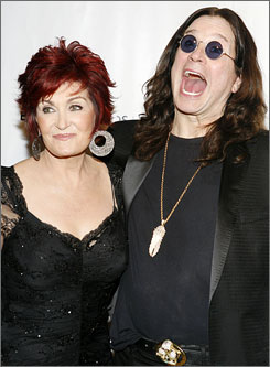 Sharon and Ozzy Osbourne are going to sell furnishings and collectibles from their homes. Some of the money will go to charity.
