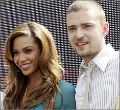 Beyonce and Justin Timberlake each earned seven AMA nominations.