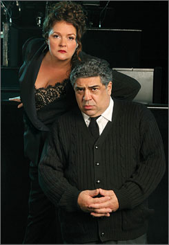 Aida Turturro and Vincent Pastore will join the cast of Chicago on Nov. 19.