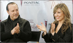 Tommy Mottola and Thalia have  Sabrina Sakae Mottola