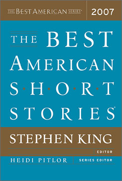 Stephen King was at the helm of the latest edition of The Best American Short Stories.
