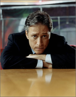 Programs that are done nightly, like Jon Stewart's The Daily Show, would be the first ones hit by a writers strike.