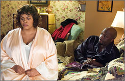 Family: Jill Scott and Richard T. Jones in Why Did I Get Married?