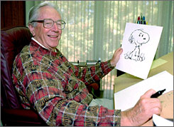 Biography: Cartoonist Charles Schulz is the subject of Schulz and Peanuts.