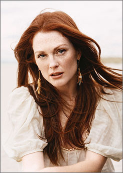 Now: Actress Julianne Moore sprinkles true anecdotes and whimsy throughout her book about a girl called Freckleface Strawberry. The moral? Accept how you look.
