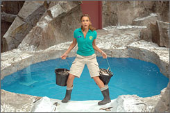 She'll stumble for ya: Jessica Alba's character in Good Luck Chuck is more adorable because she's so inelegant.