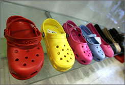 Crocs crackdown: Some school officials are just saying no to the ubiquitous clogs.