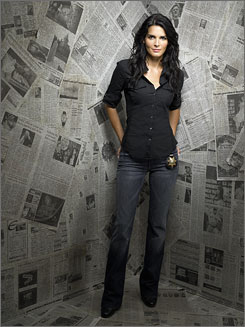 Angie Harmon and her Women's Murder Club killed the Friday night competition in the ratings.